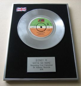 BONEY M - GOTTA GO HOME Platinum Single Presentation DISC